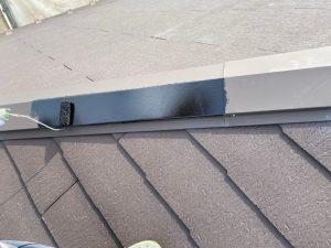 屋根塗装 板金部錆止め施工